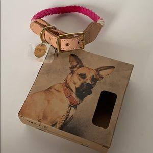 Found My Animal Rope & Leather Dog & Cat Collar,